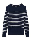 Top - Crew Clothing, navy, breton