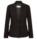 Jacket - Hobbs, black