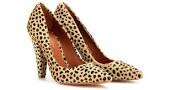 Shoes - Mulberry, animal print