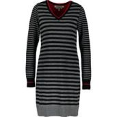 dress - clements ribeiro, wool, striped
